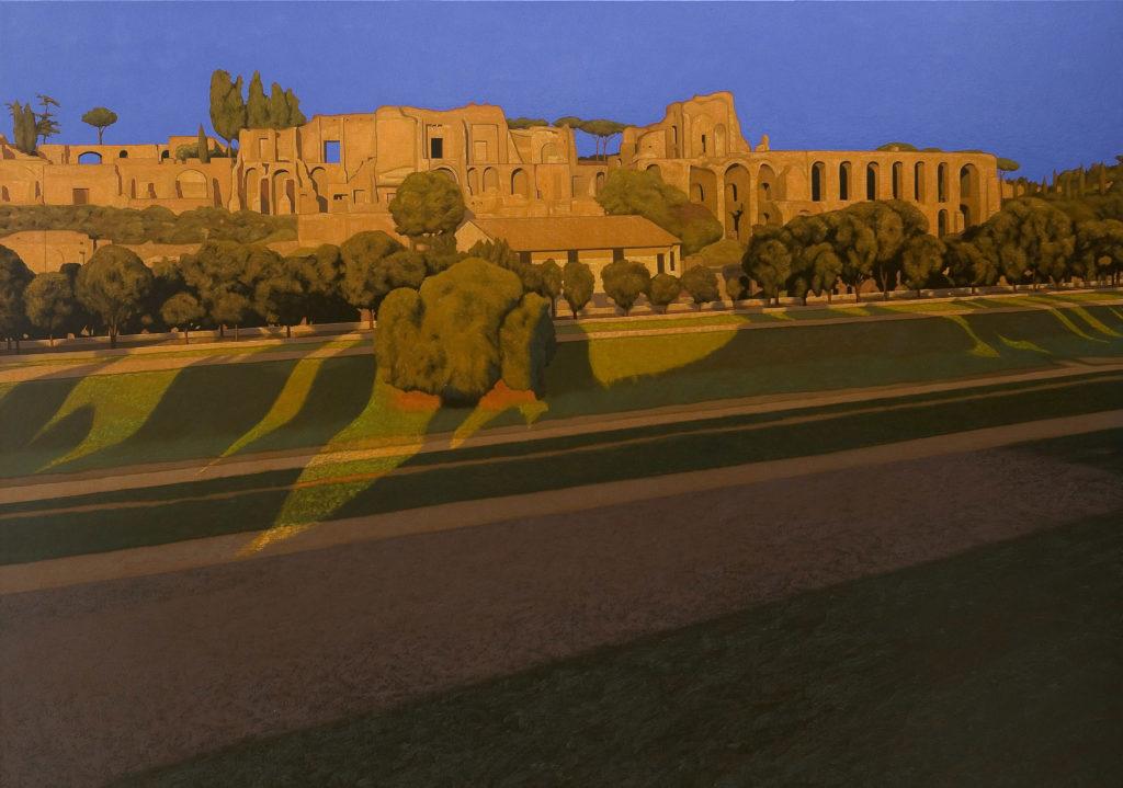 Circo Massimo 2011 olio su tela cm 140x200