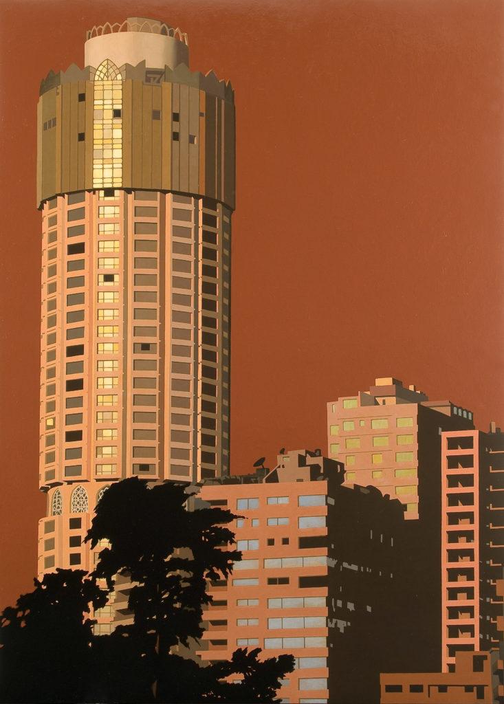 Il Cairo 2008 olio su tela cm 200x140