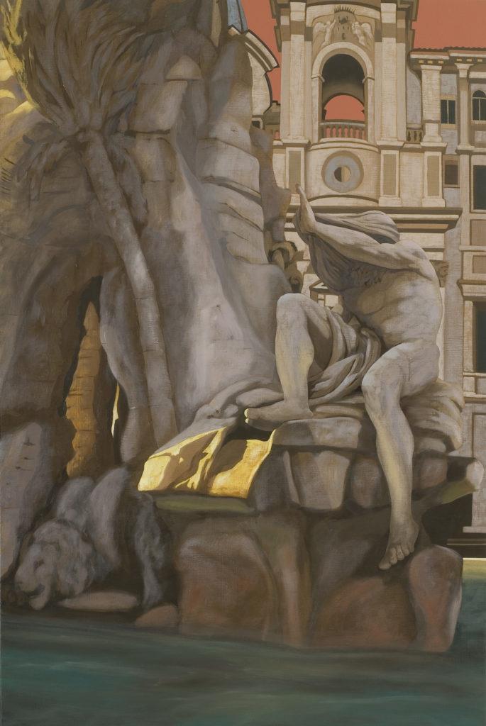 Il Nilo 2006 olio su tela cm 120x80