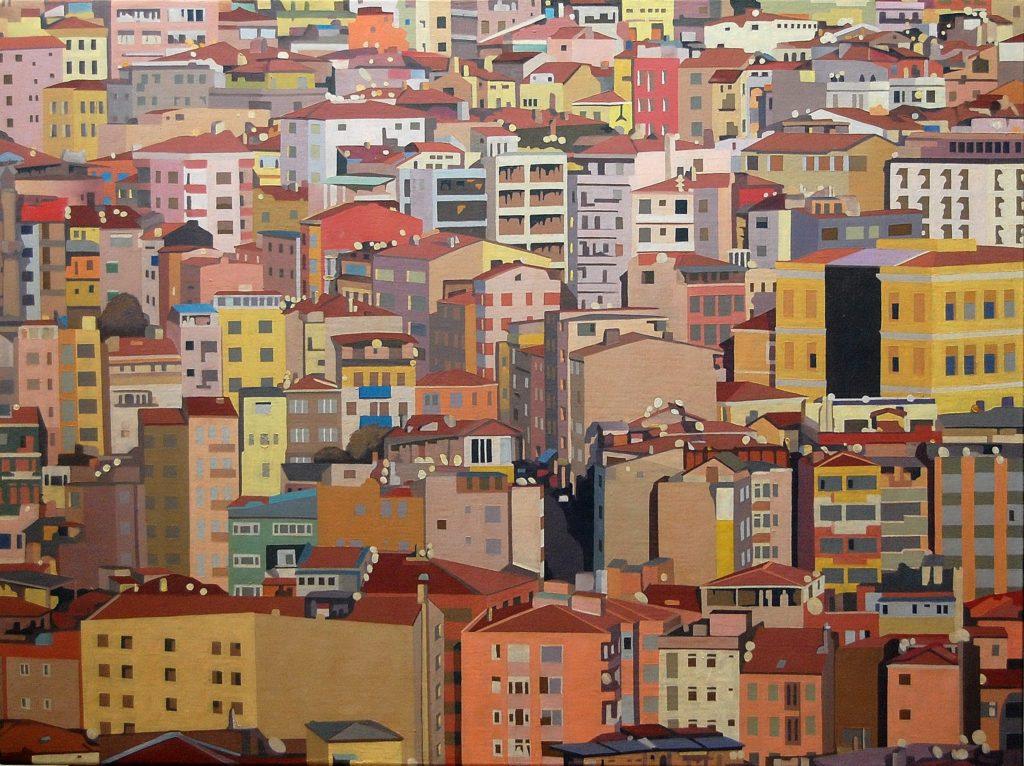 Istanbul 2013 olio su tela cm 60x80