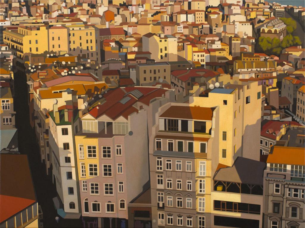 Istanbul 2014 olio su tela cm 60x80