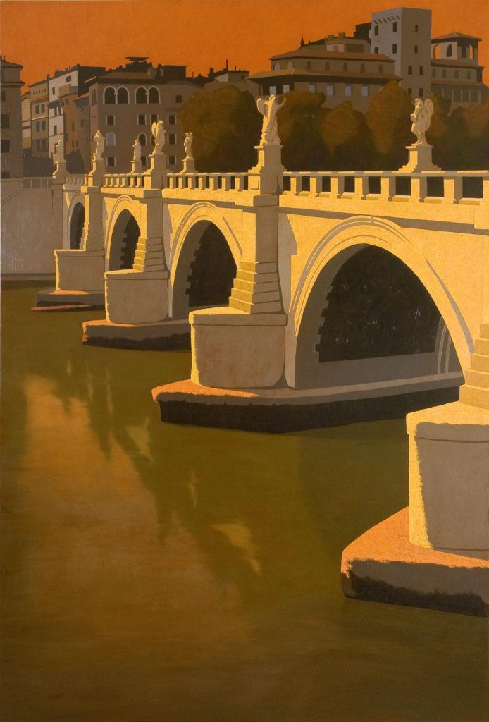Ponte Elio 2006 olio su tela cm 180x120