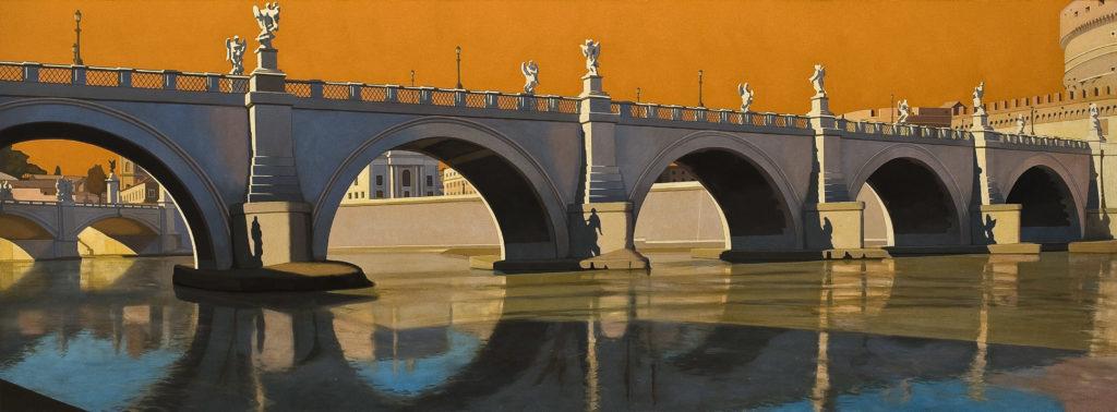 Ponte Elio 2011 olio su tela cm 80x220