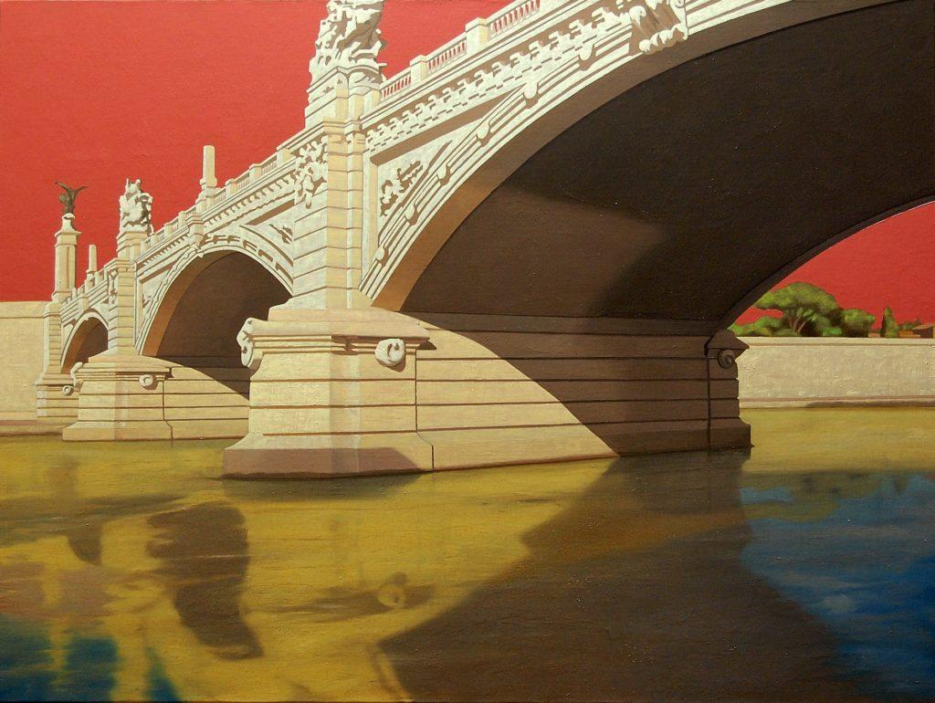 Ponte Vittorio 2013 olio su tela cm. 60x80