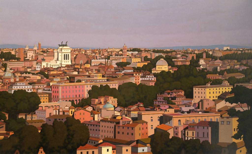 Roma 2009 olio su tela cm 150x250