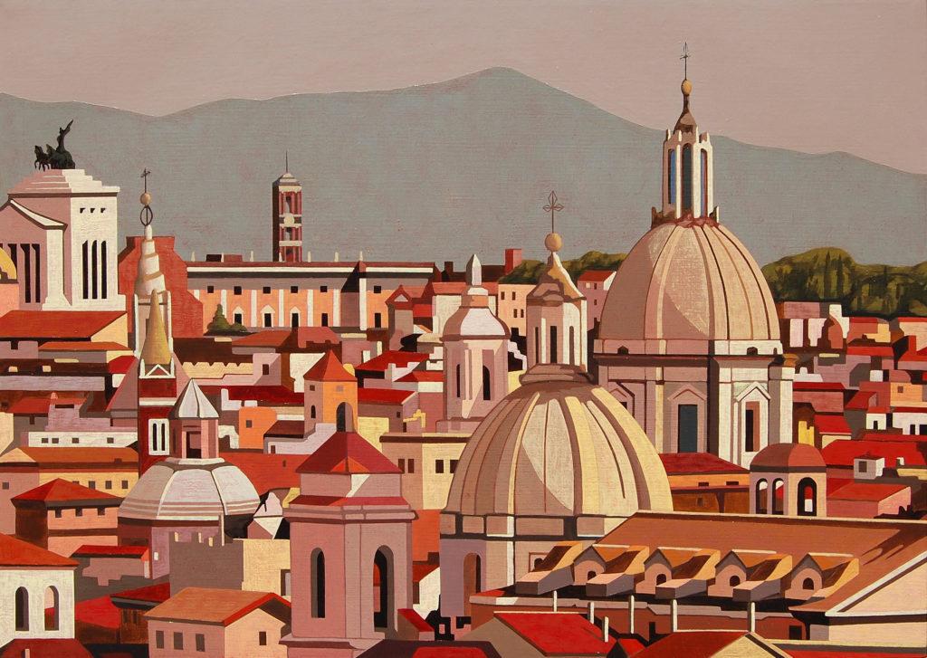 Roma 2016 olio su tela cm 50x70