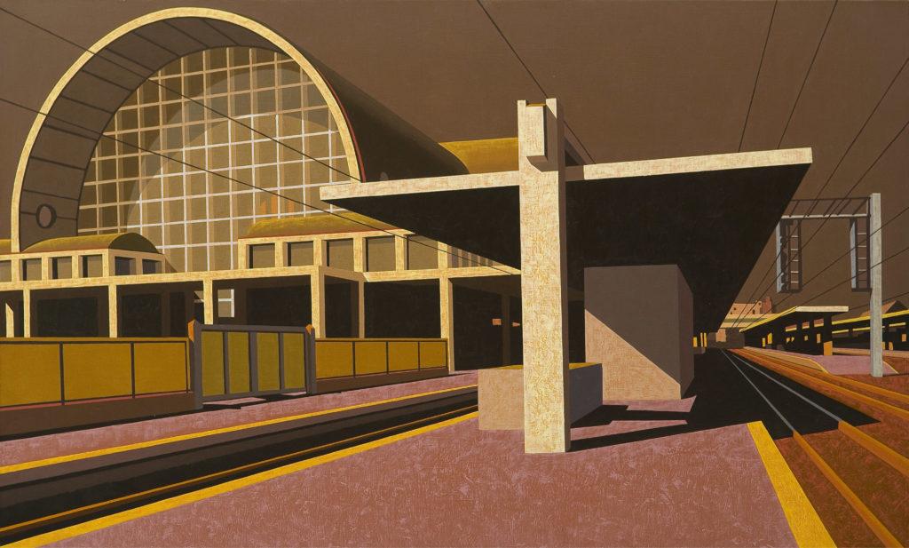 Terminal 2011 olio su tela cm 60x100