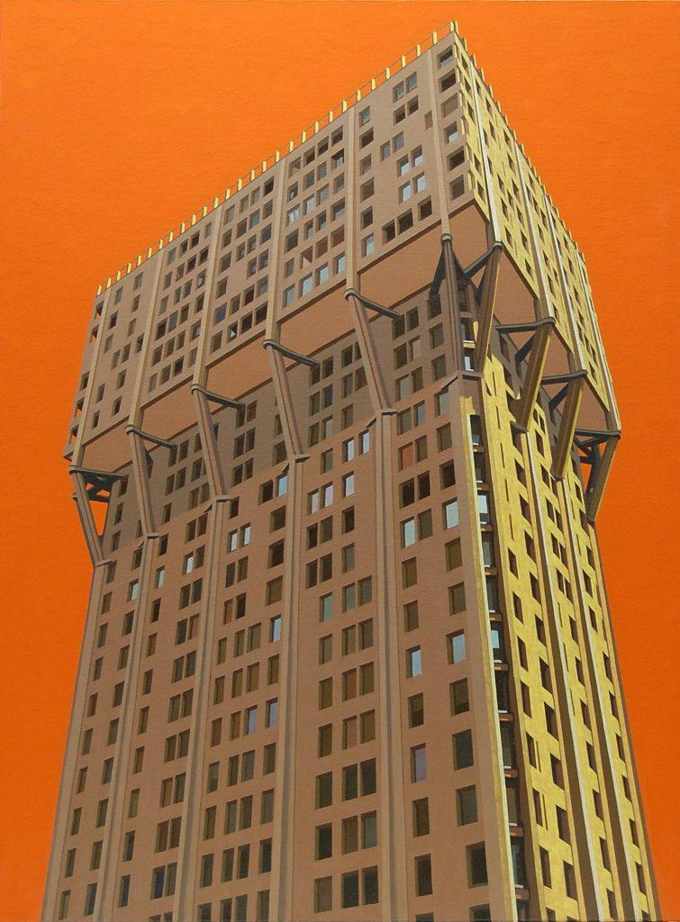 Torre Velasca 2013 olio su tela cm 80x60