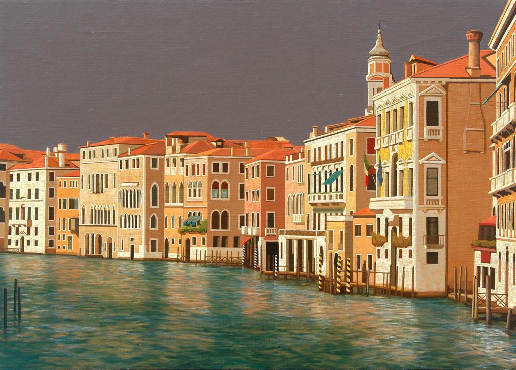 Venezia 2016 olio su tela cm 50x70